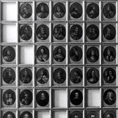 Retratos de monarcas de España