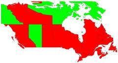 Canadian provinces (JetPunk)