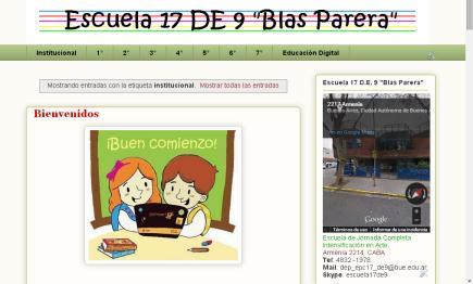 Escuela Blas Parera