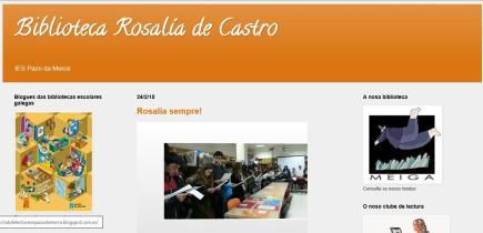 Biblioteca Rosalía de Castro IES Pazo da Mercé
