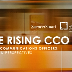 La evolución del dircom: resultados de The Rising CCO VI