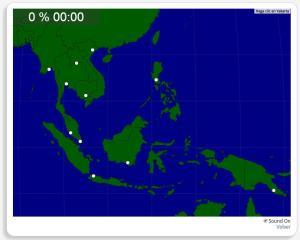 Asie du Sud-Est : les villes. Seterra