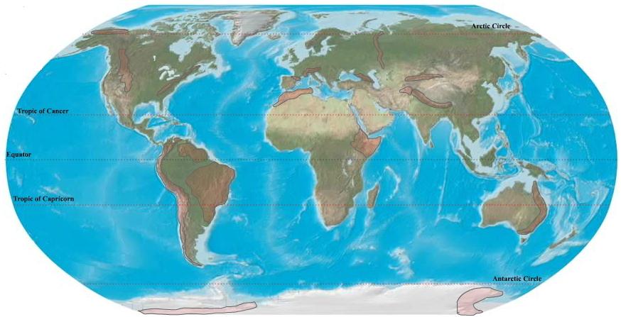 Mountain ranges of the world. Ilike2learn