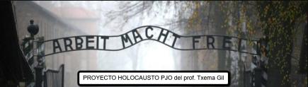 "Proyecto ABP Holocausto PJO ""Arbeit Macht Frei"""