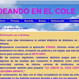 """Blog de Educación Física: """"Valverdeando en el cole"""""""
