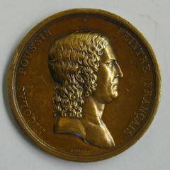 Medalla para el primer premio de pintura de la Academia de Francia