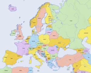 Europa: Capitales Nacionales