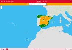 Klima von Spanien