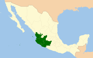 Region Occidental de Mexico
