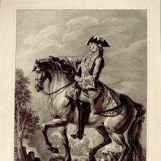 Luis XV, rey de Francia y de Navarra