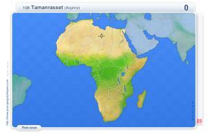 Villes d'Afrique. Jeux géographiques