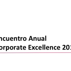 Encuentro Anual Corporate Excellence 2013