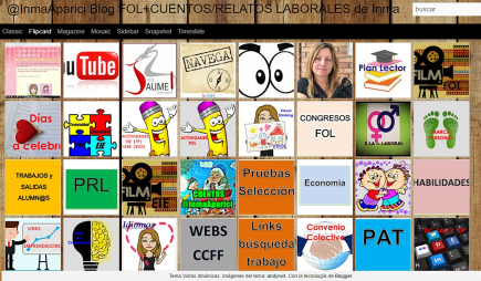 @InmaAparici Blog FOL + CUENTOS/RELATOS LABORALES