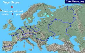 Bodies of water of Europe. Ilike2learn