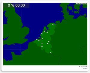 Benelux: Cidades. Seterra