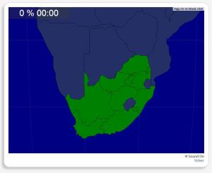 Südafrika: Provinzen. Seterra