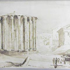 Templos de Vesta y de la Fortuna, Roma