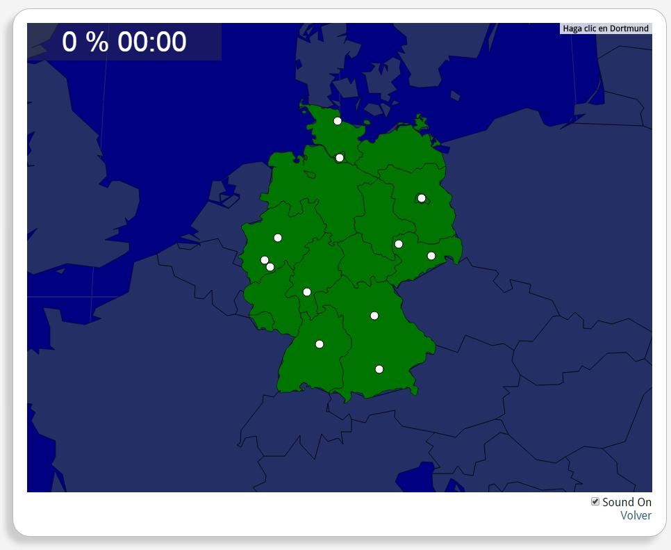 Alemania: Ciudades. Seterra