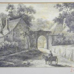 Puerta de Harnham, Salisbury, Inglaterra