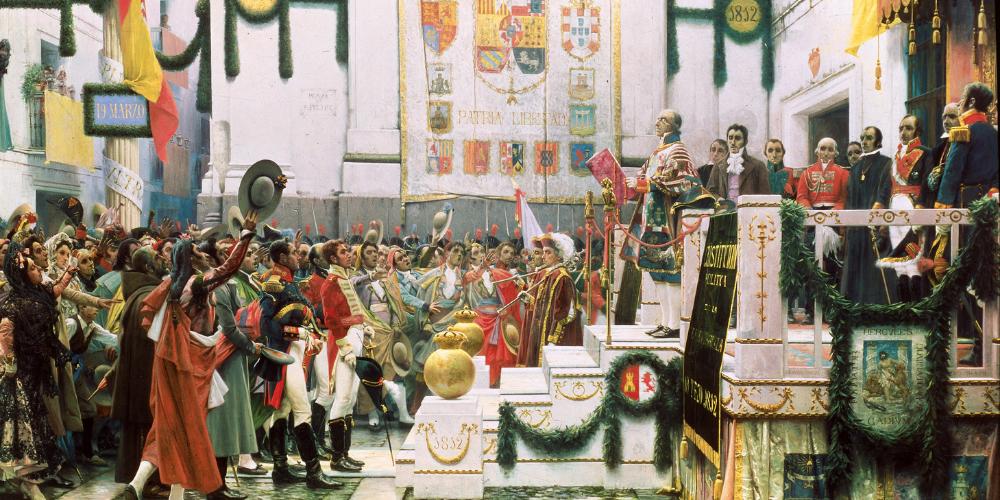 XIX. mendeko Espainiako konstituzioak