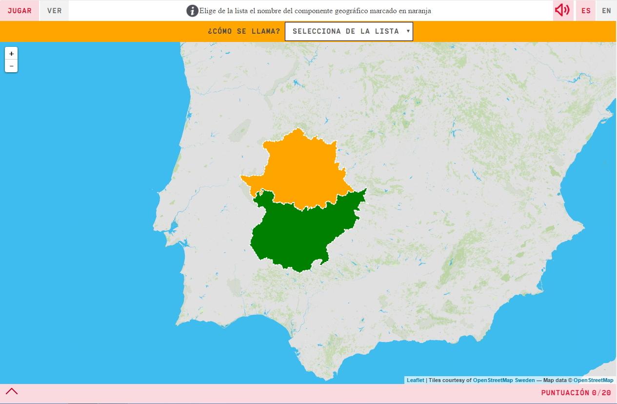 Províncias da Extremadura