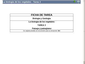 La biología de los vegetales - Tarea 3