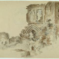 Ruinas del castillo de Denbigh (Gales)