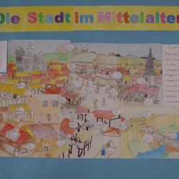 Die Stadt im Mittelalter (La ciudad en la Edad Media)