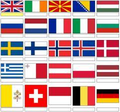 Flags of Europe (JetPunk)