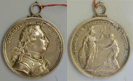 Jorge III, Tratado de San Vicente