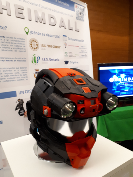 Proyecto HEIMDALL - Creación de un casco inteligente aplicando ABP en Ciclos Formativos de Informática