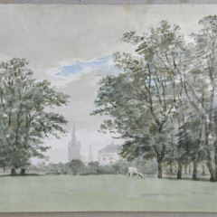 Vista de Hyde Park, Londres (Inglaterra)