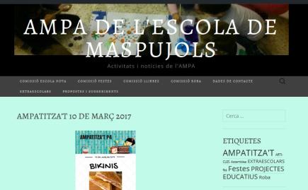 AMPA DE L'ESCOLA DE MASPUJOLS