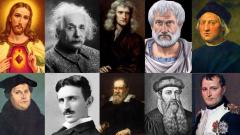 Personnages de l'histoire pertinents (facile)