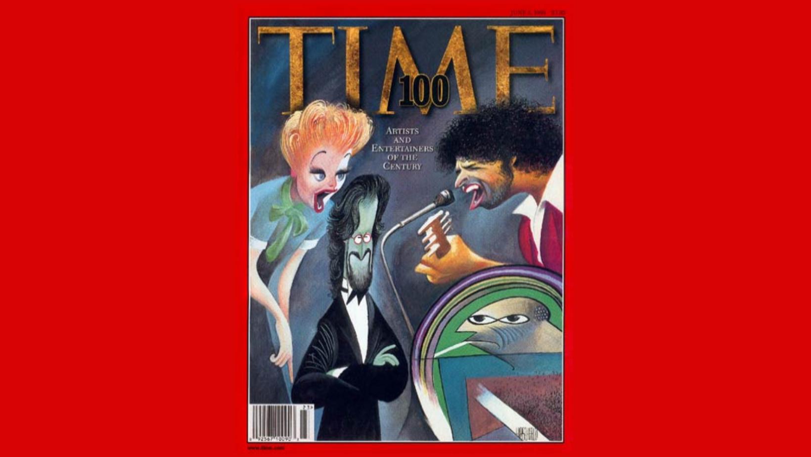 Les personnes dans le monde de l'art et du divertissement les plus influentes du XXe siècle. Time 100