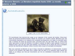 El discurso literario. La literatura española hasta 1936: La novela anterior a 1936