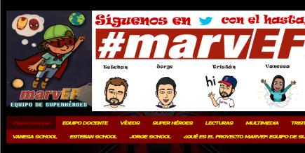 #marvEF: Equipo de superhéroes y superheroínas