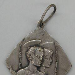 Medalla de la Asociación de los Santos Niños Justo y Pastor