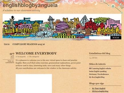 ENGLISHBLOG BYANGUELA