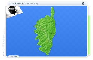 Villes de Corse. Jeux géographiques