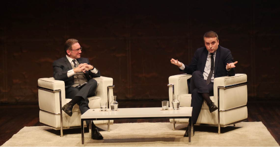 Iván Redondo y Jaume Giró dialogan sobre la crisis de confianza en las instituciones