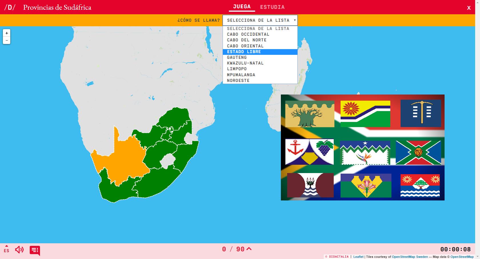 Províncias da África do Sul