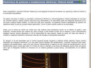 Electrónica de potencia e instalaciones eléctricas: Elementos comunes de la unidad