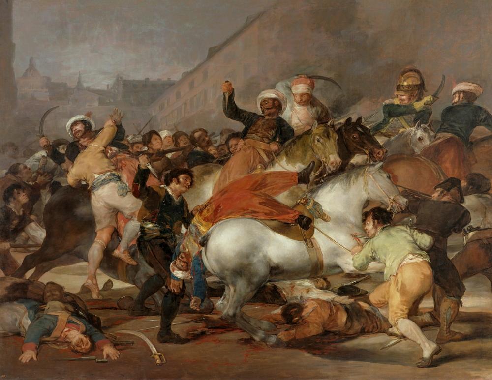El 2 de mayo de 1808 en Madrid o ''La lucha con los mamelucos'', 1814