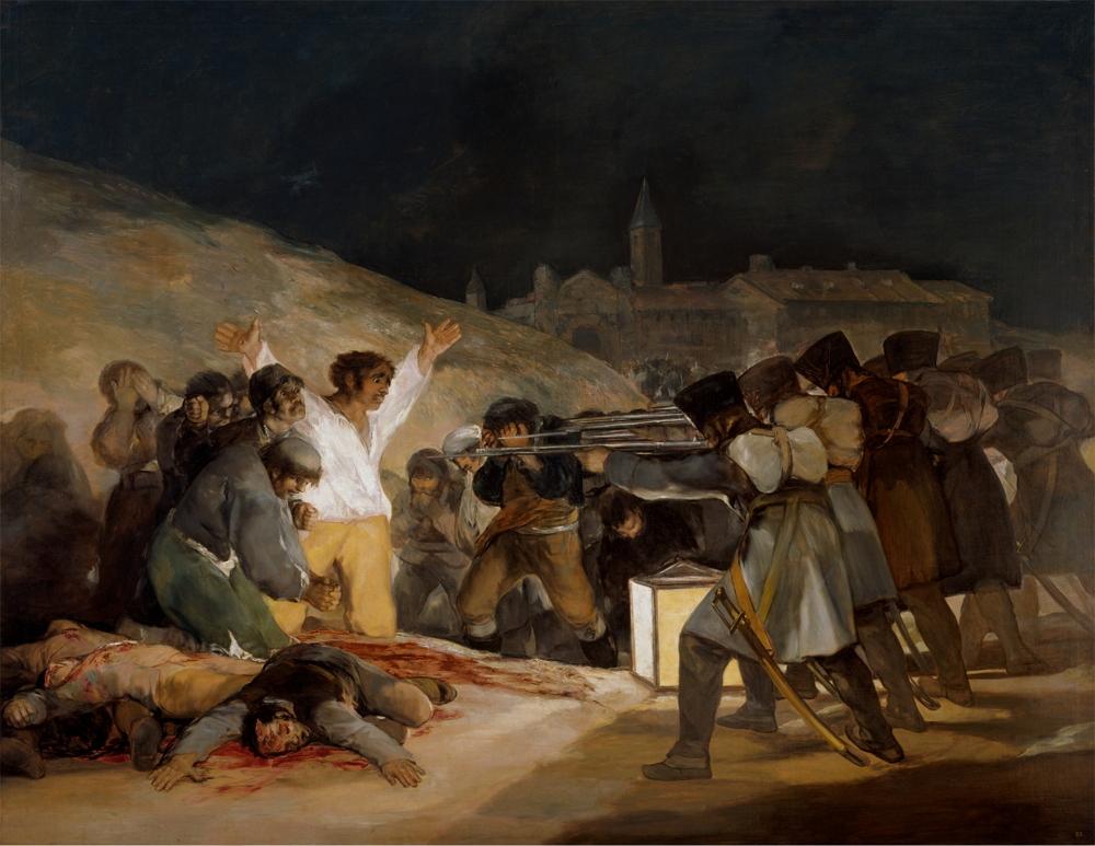 El 3 de mayo en Madrid o ''Los fusilamientos'', 1814