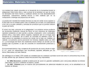 Materiales: Materiales ferrosos
