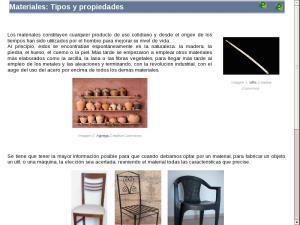 Materiales: Tipos y propiedades