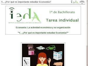 Y... ¿Por qué es importante estudiar Economía?
