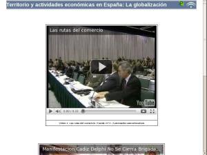 Territorio y actividades económicas en España: La globalización