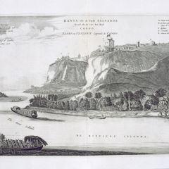 Vista de Bansa  o San Salvador, capital del Congo